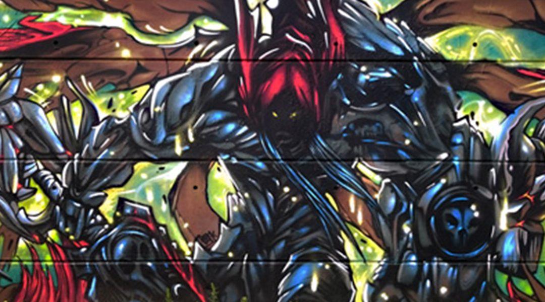 Darksider graffiti
