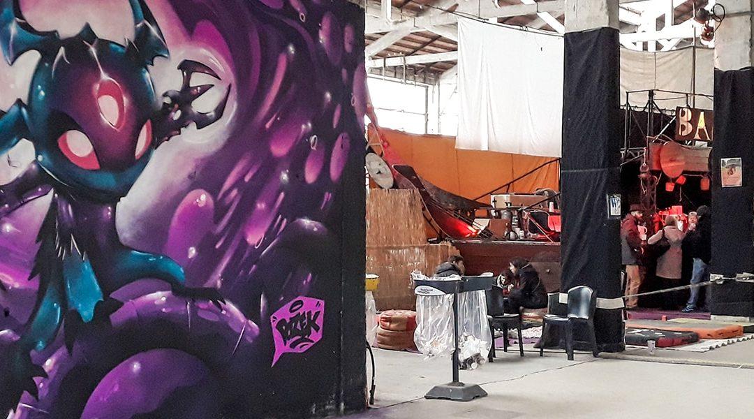 Graffiti à la Cartoucherie