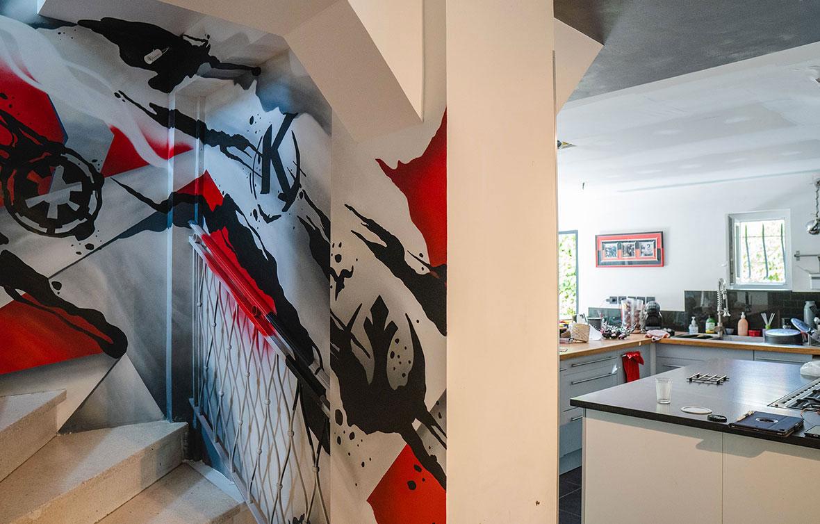 decoration-murale-escalier
