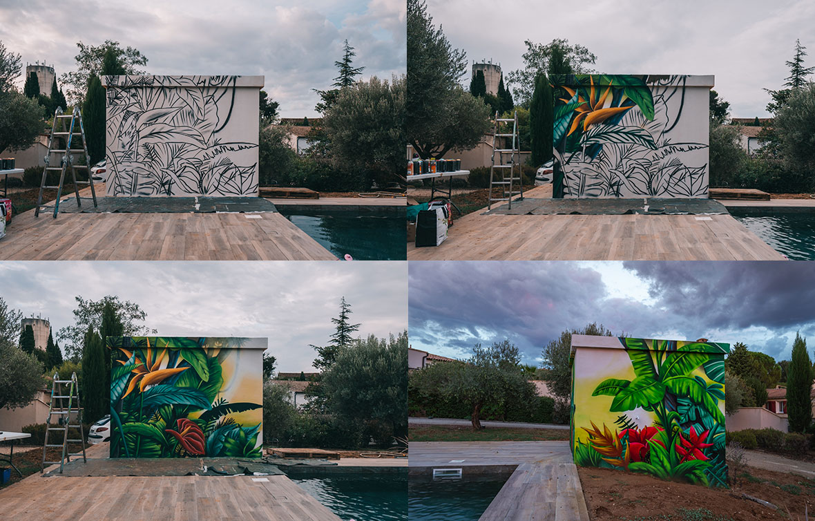 pool-house-tropical-graffiti